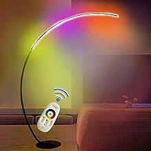 RGB Stehlampe LED Bogenlampe Dimmbar mit