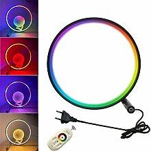 RGB Tischleuchte Nachttischlampe LED Dimmbar