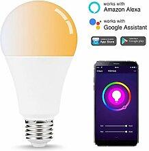 RGBW-Smart-Wifi-Lampe für die