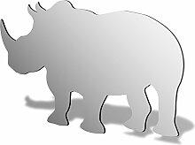 Rhino Acryl Spiegel, acryl, 500 x 344mm