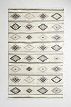 Rhombi Indoor-/Outdoor-Teppich - Grey