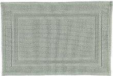RHOMTUFT Badematte Grace Kiesel - 85 70x120 cm