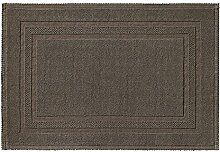 RHOMTUFT Badematte Grace Taupe - 58 70x120 cm