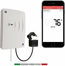 Rialto Kit Energy Monitor: Überwachung und Analyse via App des Stromverbrauchs von Haus, Büro und Betrieb (Kit von Base)