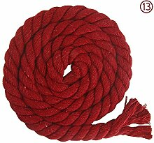 Ribbon Family 20 Farben Twisted Cotton Rope Twine
