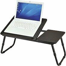 Ribelli Laptoptisch schwarz ALS Tabletttisch fürs