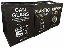 Ribens Recycling-Mülleimer für Küche Büro zu