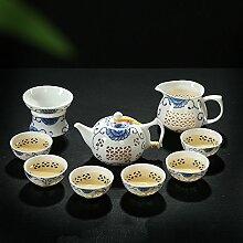 RIBLDG Blau - Weiße Porzellan Exquisite
