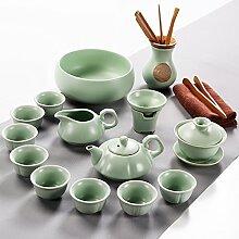 RIBLDG Der Volle Satz Porzellan Keramik Tee -