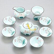 RIBLDG Jingdezhen Handgezeichnete Kungfu