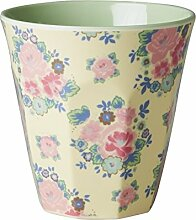 Rice Melamin Becher Two Tone Dutch Rose Print One Size