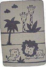 Richter Textilien Babydecke Leo 75 x 100 cm