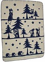 Richter Textilien Babydecke Märchenwald 75 x 100