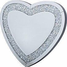 richtop Moden Dreifach Herz Form Design Funkelnder