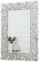 RICHTOP Wandspiegel groß mit Glitzer Jeweled
