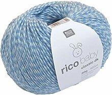 Rico Baby classic dk Farbe 24 blau twist weiche