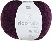 Rico Baby Classic dk Violett 016