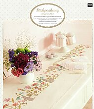 "Rico Design ""Flower Meadow Kit Tischläufer,"