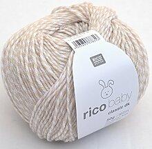 Rico Design Baby Classic DK, Farbe 021 - ecru twis