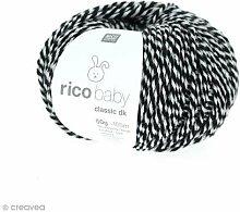 Rico Design baby classic dk Farbe 098 schwarz twis
