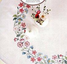 Rico Design Flower Kranz Kit Stoff, Baumwoll-Mischgewebe, mehrfarbig