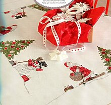 Rico Design Santa Claus-Set Stoff, Polyester Baumwolle, mehrfarbig