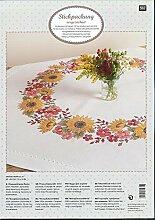 Rico Design Sonnenblumen-Set Stoff, Polyester,
