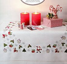 Rico Design Weihnachts-Teddy Kit Stoff, Polyester Baumwolle, mehrfarbig