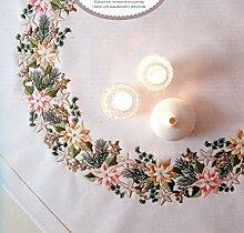 Rico Design Weihnachtsstern Kit Stoff Mischgewebe,