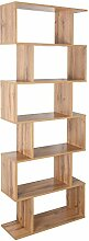 RICOO Bücherregal Raumteiler Standregal 191x70x24