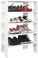 RICOO Schuh-Regal (WM040-WM) 88 x 60 x 32 cm