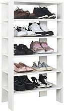 RICOO Schuh-Regal (WM041-WM) 105 x 60 x 32 cm