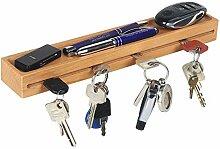 RICOO SH431, Schlüsselbrett aus Massiv-Holz,