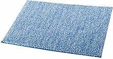 Ridder Teppich Melange hellblau 55x50 cm