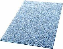 Ridder Teppich Melange Hellblau 60x90 cm