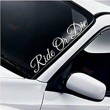Ride Or Die Windschutzscheibe Heckscheibe