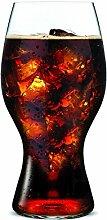 Riedel Coca Cola Glas aus der O-Riedel Glasserie,