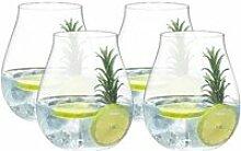 Riedel Gläser O Gin Glas Set 4-tlg. 762 ccm / h: