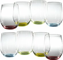 Riedel Happy O Wine Tumbler (Set von 8)