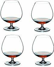 Riedel Vinum Crystal Cognac Brandy Glass, Set of 4