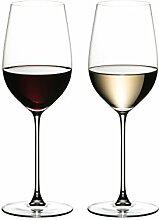 RIEDEL Weinglas-Set, 2-teilig, Für Weißweine und