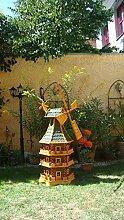 Riesige Windmühle, mit dickem Bitumen, mit