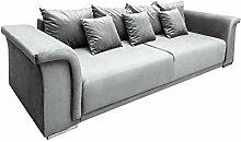 Riess Ambiente Big XL Sofa Bella 270cm hellgrau