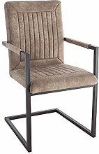 Riess Ambiente Design Freischwinger Stuhl Bristol