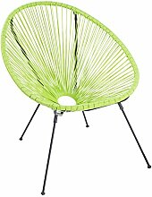 Riess Ambiente Moderner Acapulco Sessel Lime