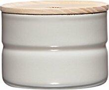 RIESS Vorratsdose KIMA, Frischhaltedosen, Aufbewahrungsdose, mit Deckel, Ø 8 cm, 230 ml, Höhe: 6 cm, weiß