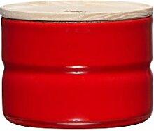 RIESS Vorratsdose KIMA, Frischhaltedosen, Aufbewahrungsdose, mit Deckel, Ø 8 cm, 230 ml, Höhe: 6 cm, ro