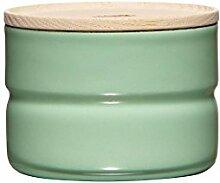 RIESS Vorratsdose KIMA, Frischhaltedosen, Aufbewahrungsdose, mit Deckel, Ø 8 cm, 230 ml, Höhe: 6 cm, grün