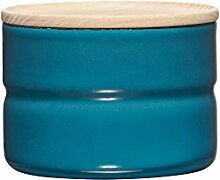 RIESS Vorratsdose KIMA, Frischhaltedosen, Aufbewahrungsdose, mit Deckel, Ø 8 cm, 230 ml, Höhe: 6 cm, blau