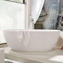Riho Bilbao Freistehende Oval-Badewanne, BS10005
